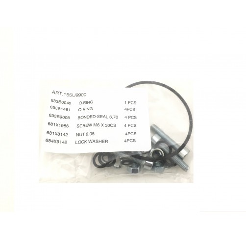 155U9900 - O rings & mounting kit for PVREL
