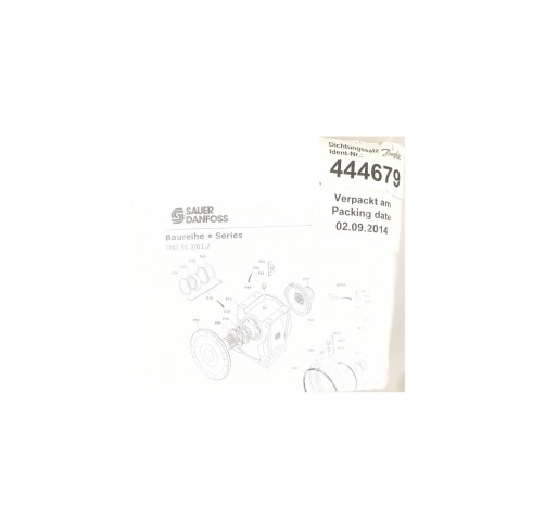 444679 - Overhaul Seal Kit