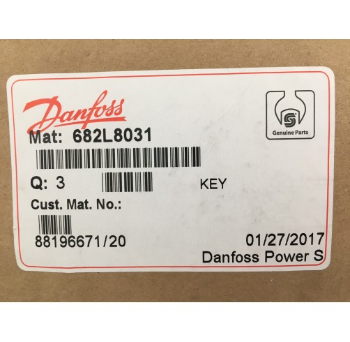 682L8031 - Parallel Key SAE Version 3/16x3/16x3/4 inch B.S. 46