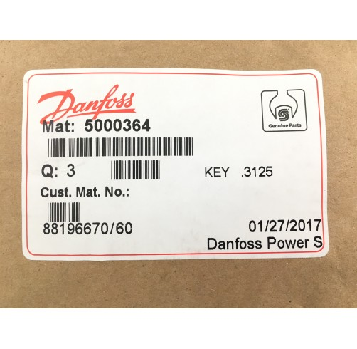 5000364 - Parallel Key 7.94x7.94x28.56 mm