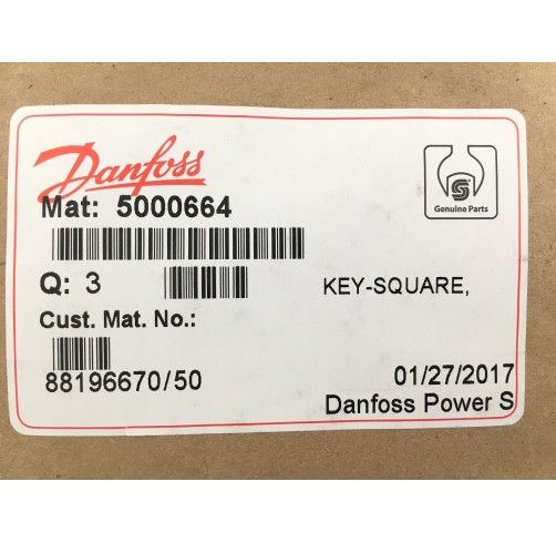5000664 - Parallel Key 6.35x6.35x12.7 mm