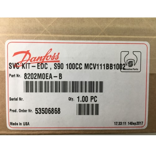 8202M0EA-B - Electrical Displacement Control (EDC) Series 90/100PV