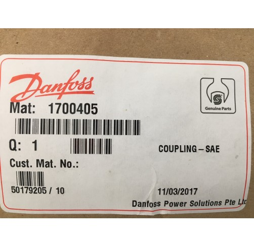 1700405 - Coupling, 14-tooth Series 45 E Frame