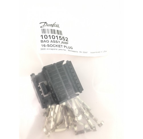 10101552 - AMP Connector bag Assembly 16-pin