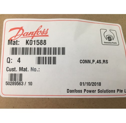 K01588 - MS/Standard 90 degree Plug