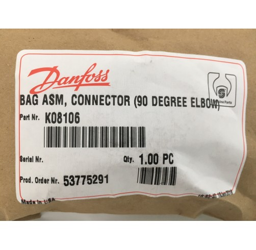 K08106 - MS/Standard 90 degree Plug