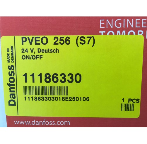 11186330 - PVEO256 electrical actuation S7