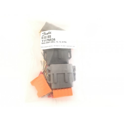 11176538 - DEUTSCH Connector bag Assembly 12, 6 -Socket Plug (6, 12P)